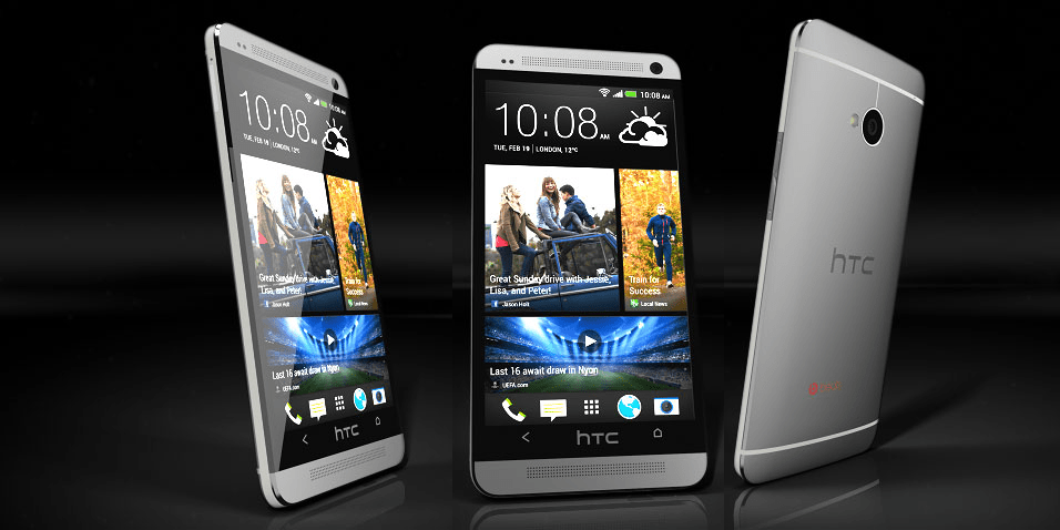 The Sexy chassis of the HTC One