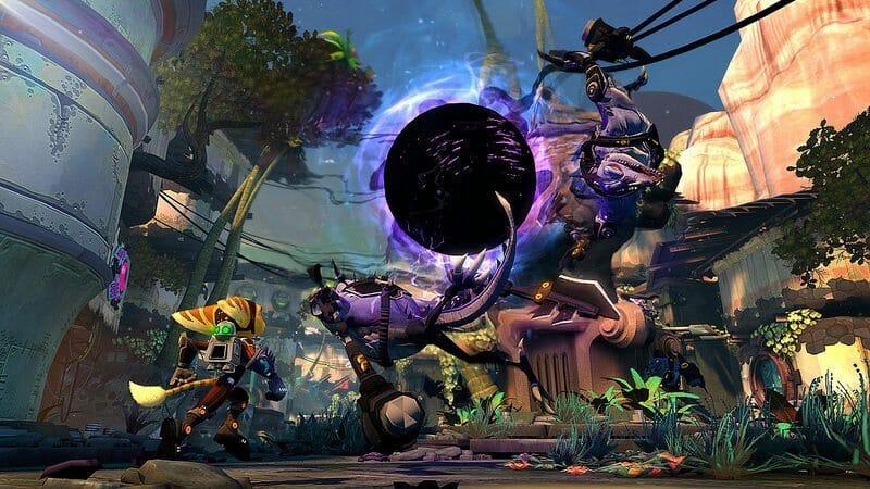 Ratchet Clank Into The Nexus Gamescom Gameplay Walkthrough