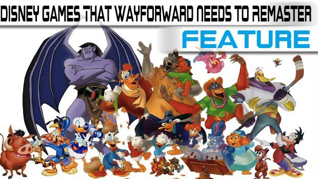 6 Retro Disney Games That Wayforward Needs To Remaster featured image