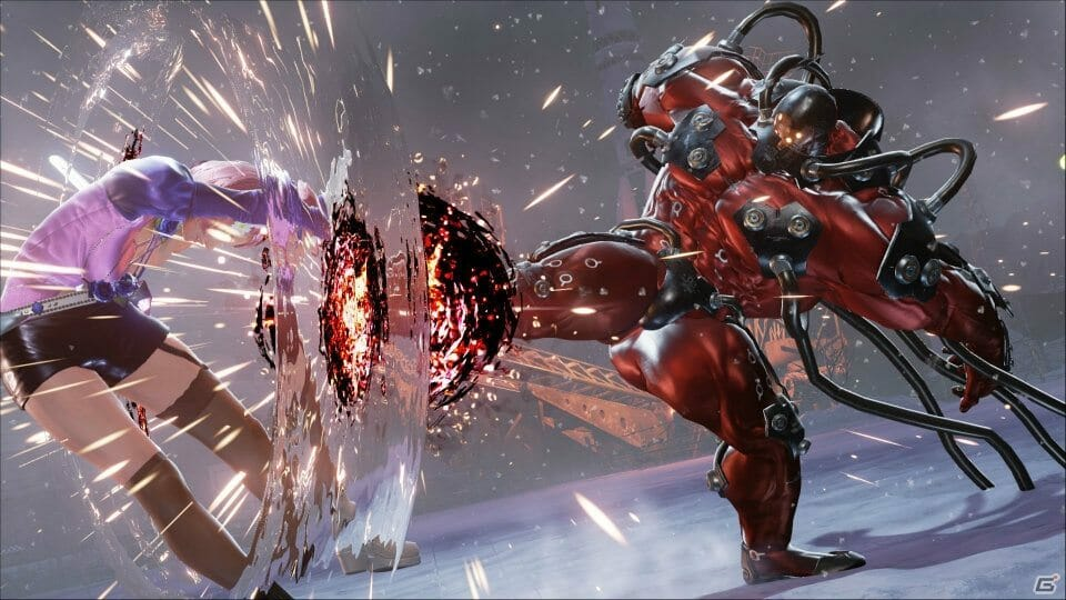 Check Out Gigas In Action In Tekken 7 Bagogames