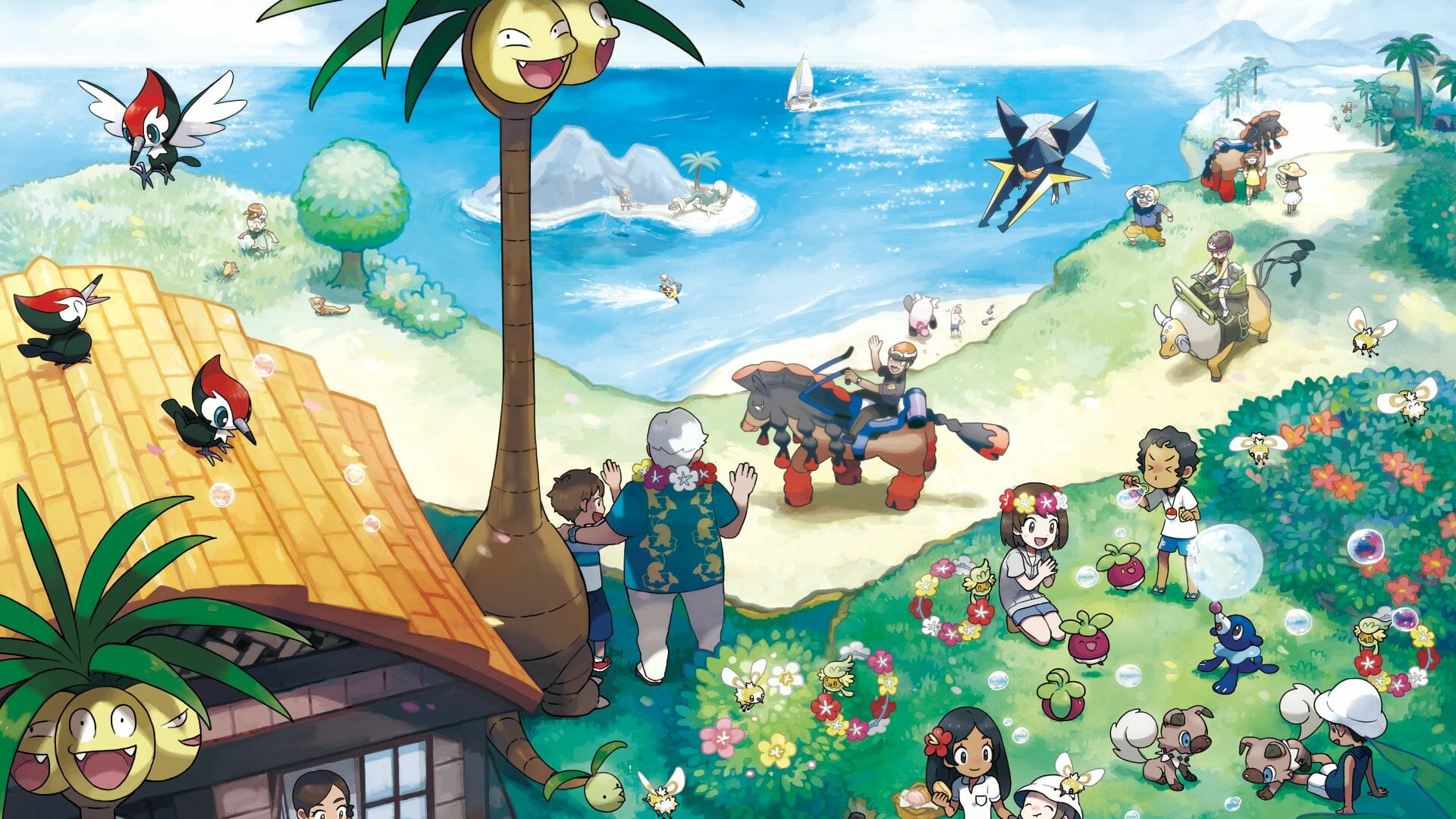 Pokemon Sun & Moon, The Pokemon Company International