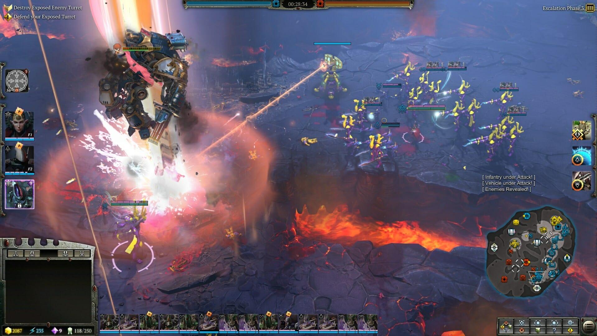 Dawn of War 3, Sega