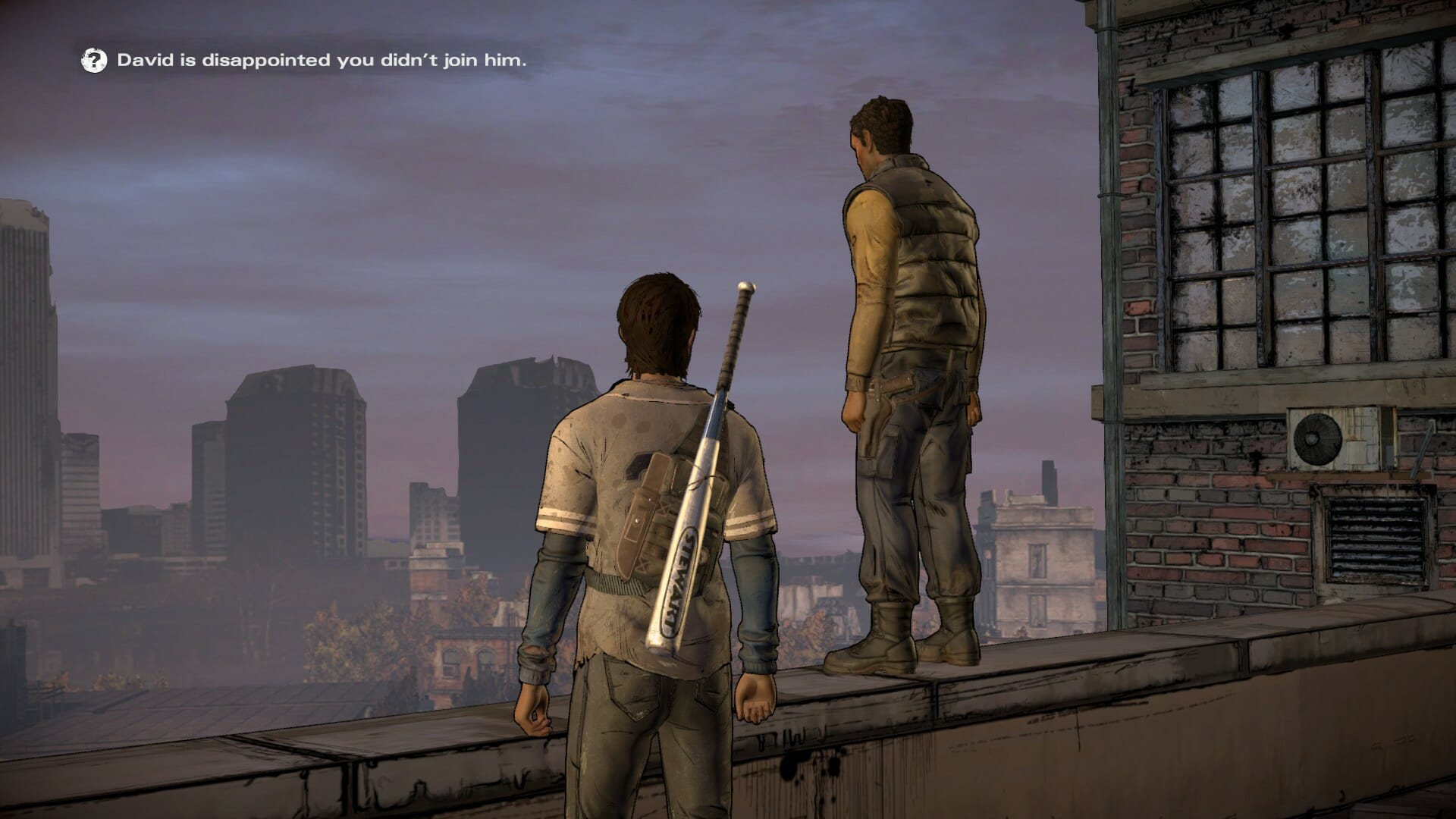 The Walking Dead: A New Frontier – From The Gallows, Telltale Games