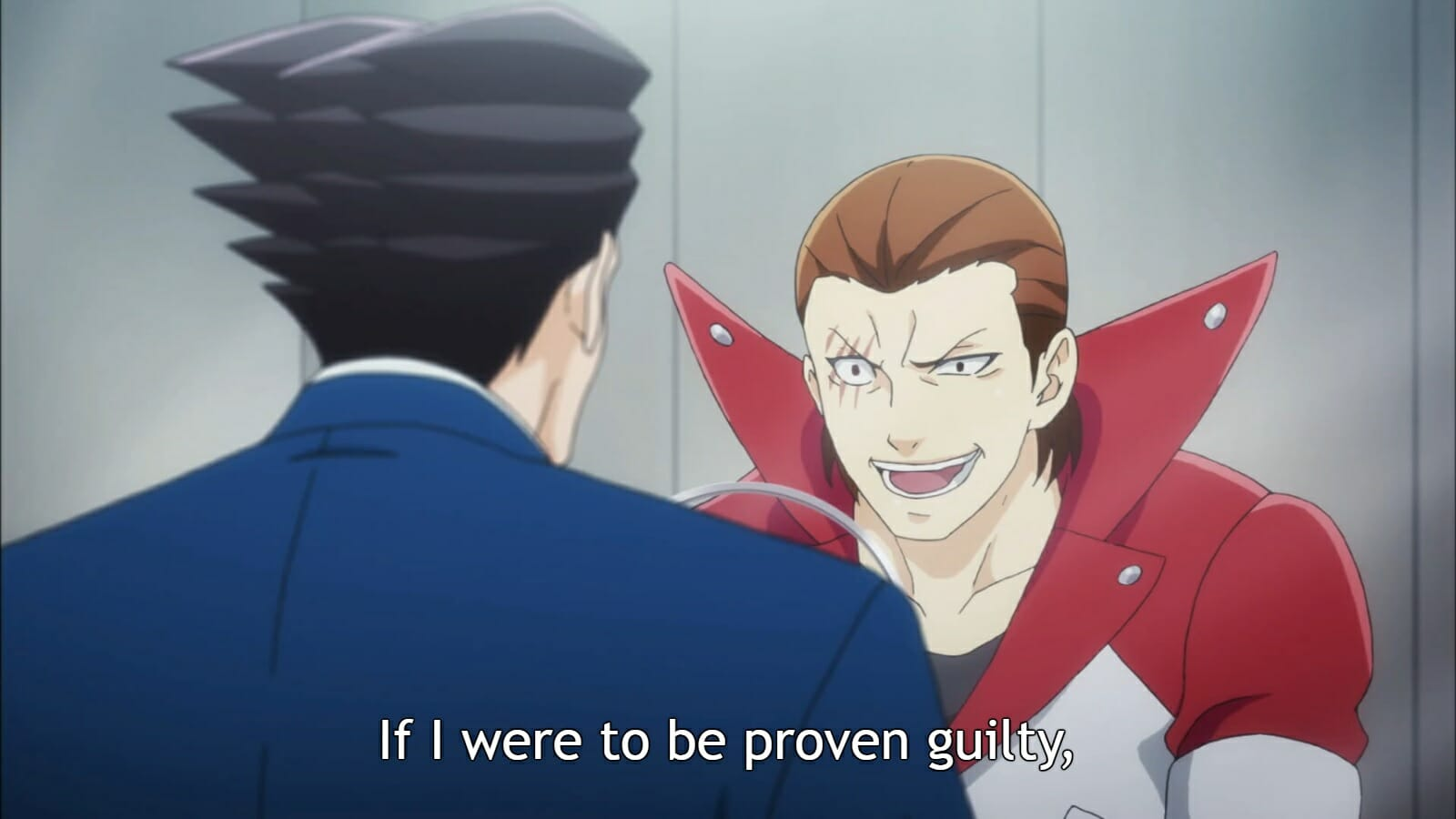 Ace Attorney Anime Farewell, My Turnabout – 3rd Trial / A-1 Pictures