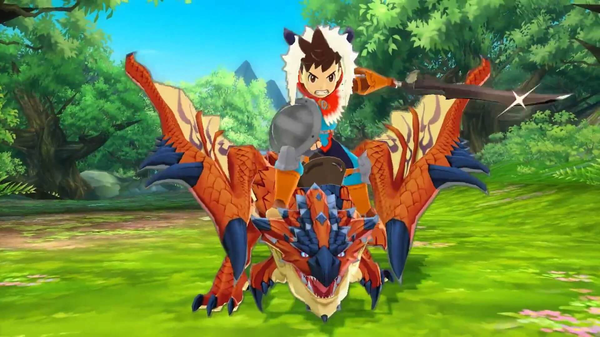 Taking A Ride In The Monster Hunter Stories Demo
