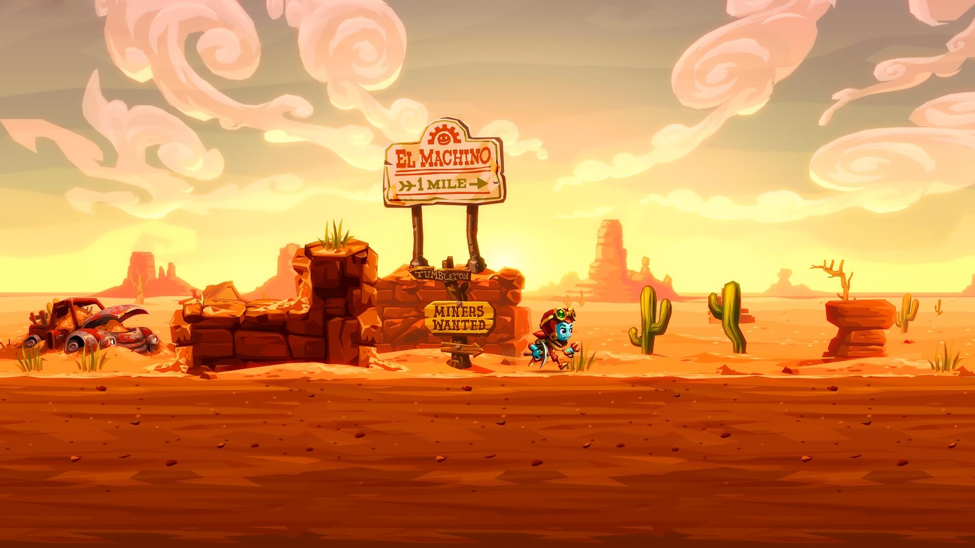 (Steamworld Dig 2, Image and Form Games)