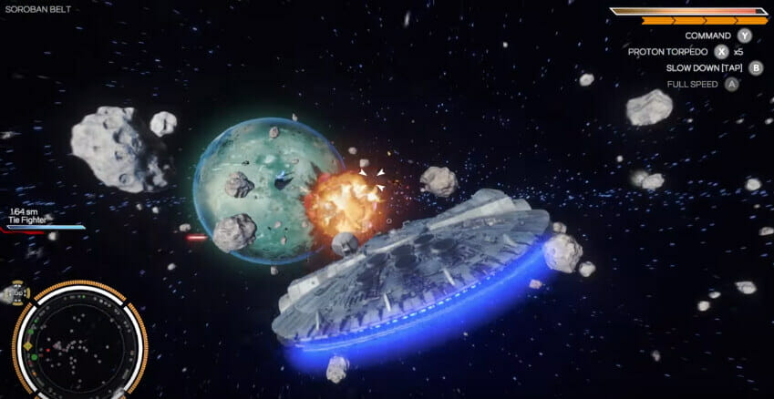 Star Wars Pitch, Double Damage
