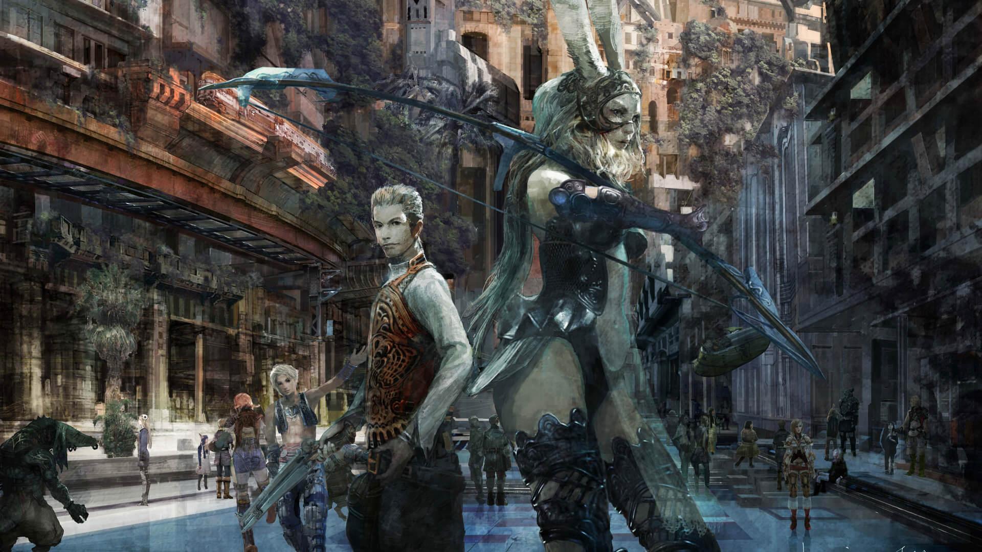 Final Fantasy XII: The Zodiac Age, Square Enix