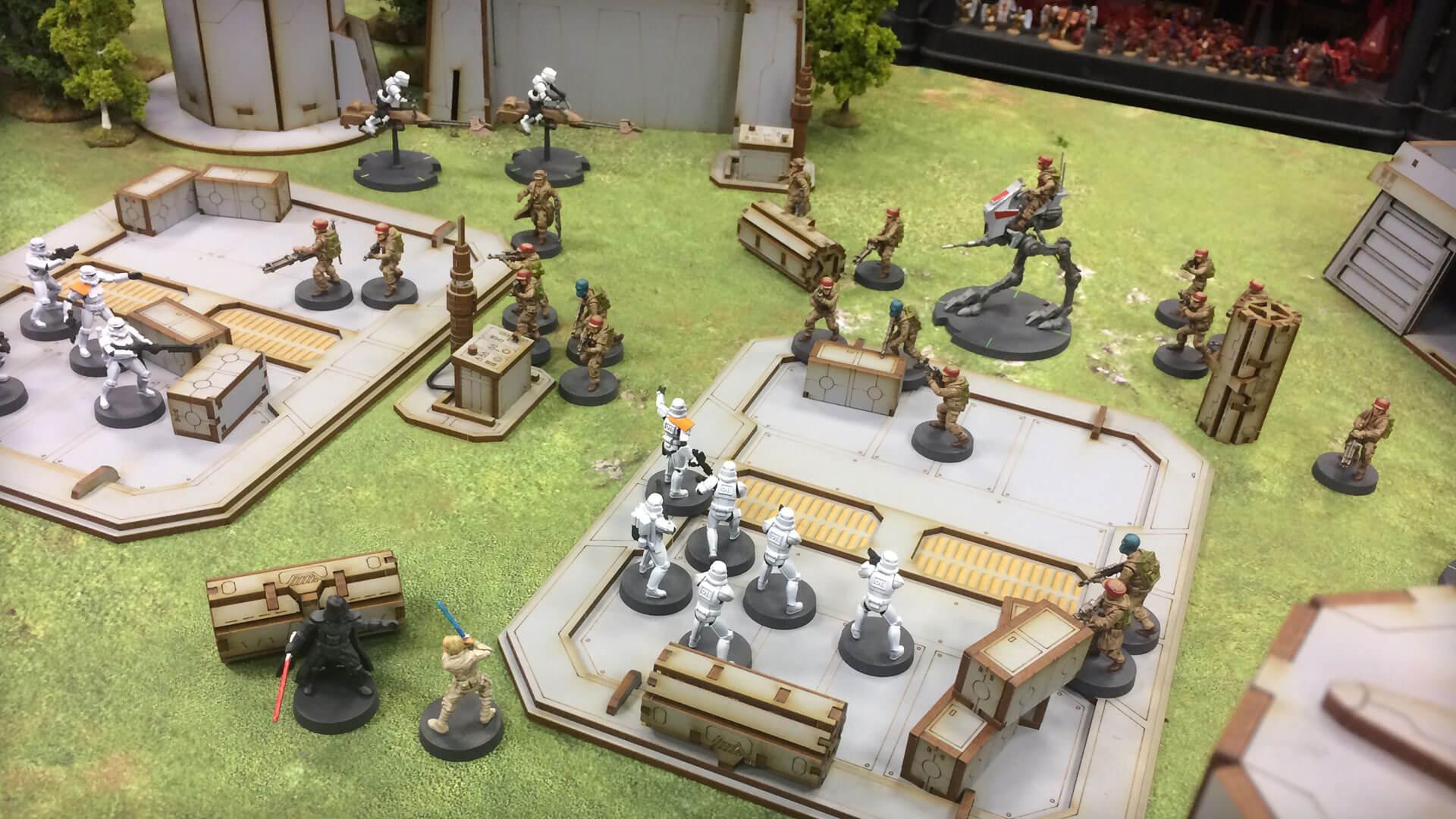 Star Wars: Legion, Fantasy Flight Games