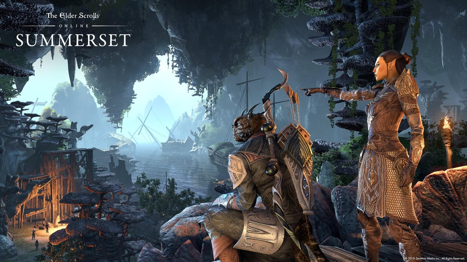The Elder Scrolls Online: Summerset Hits Consoles