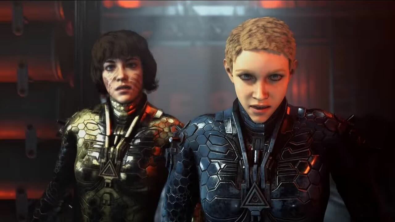 soph and jess the protagonists of wolfenstein youngblood