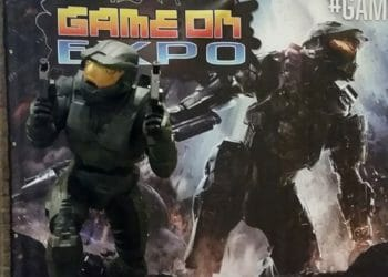 Game On Expo - Master Chief Statue