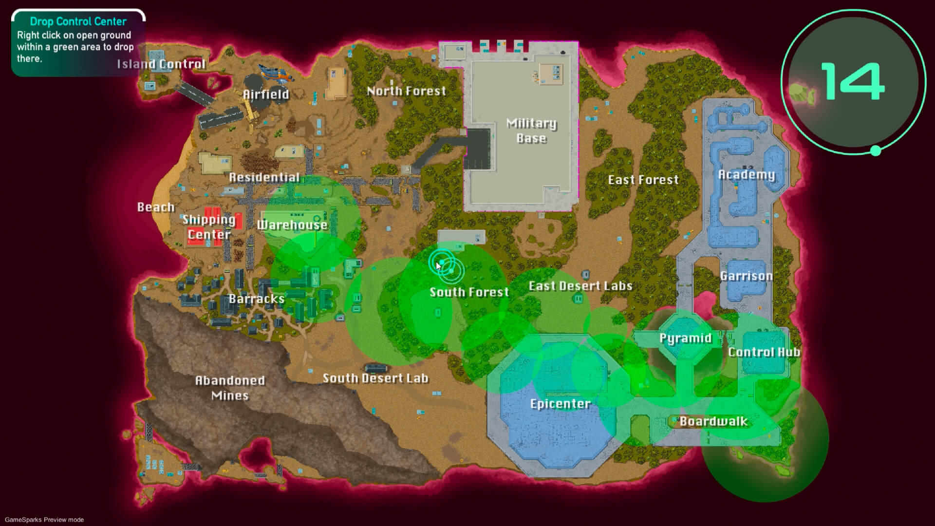 Outworld Battlegrounds Review. The Map.
