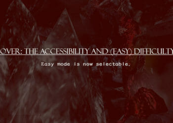 Game Over: The Accessibility and (Easy) Difficulty Issue.