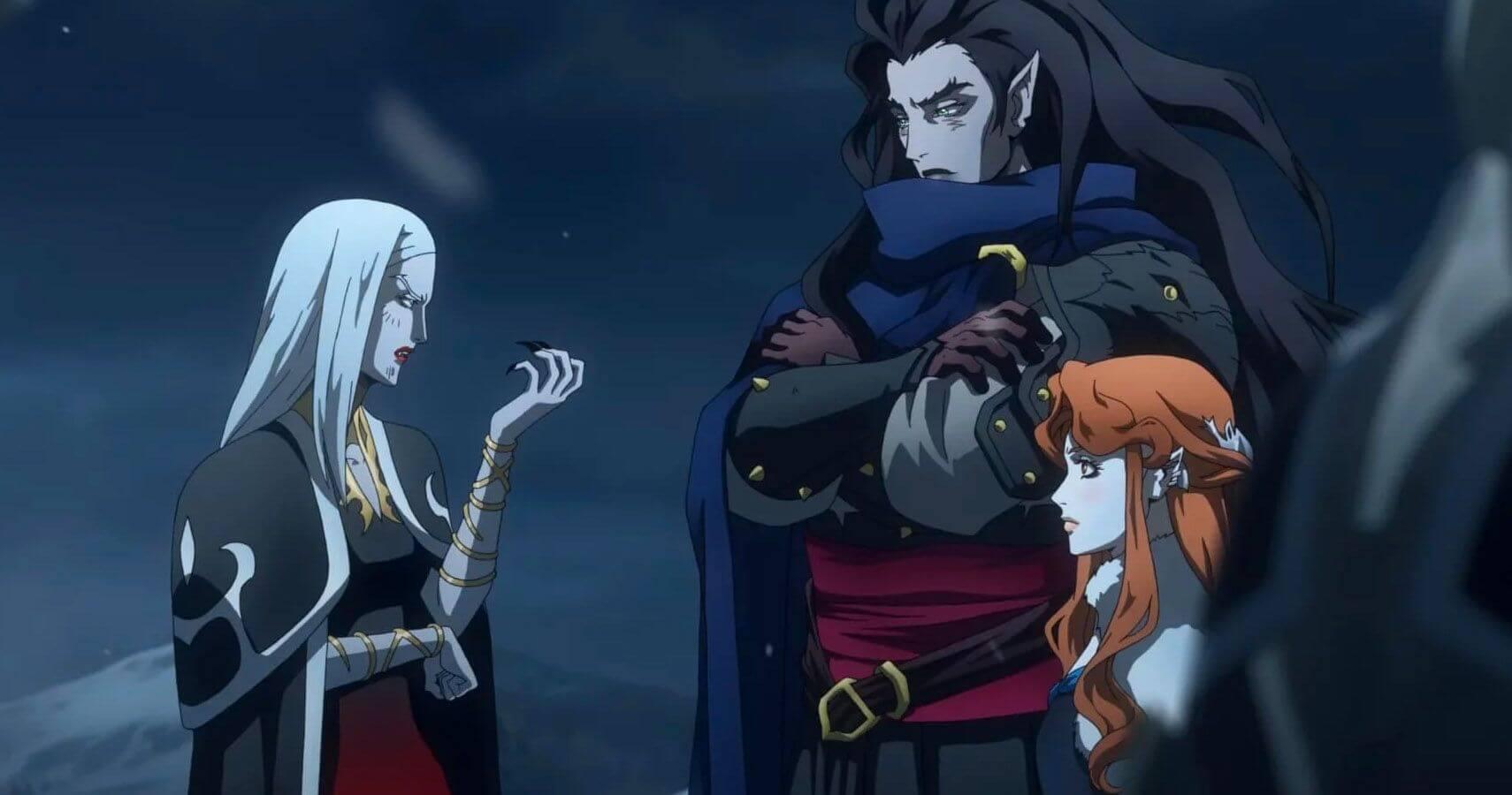 Castlevania vampire sisters
