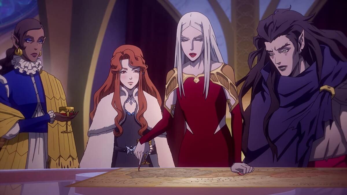 Castlevania season 3 vampire