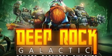 Deep Rock Galactic Header
