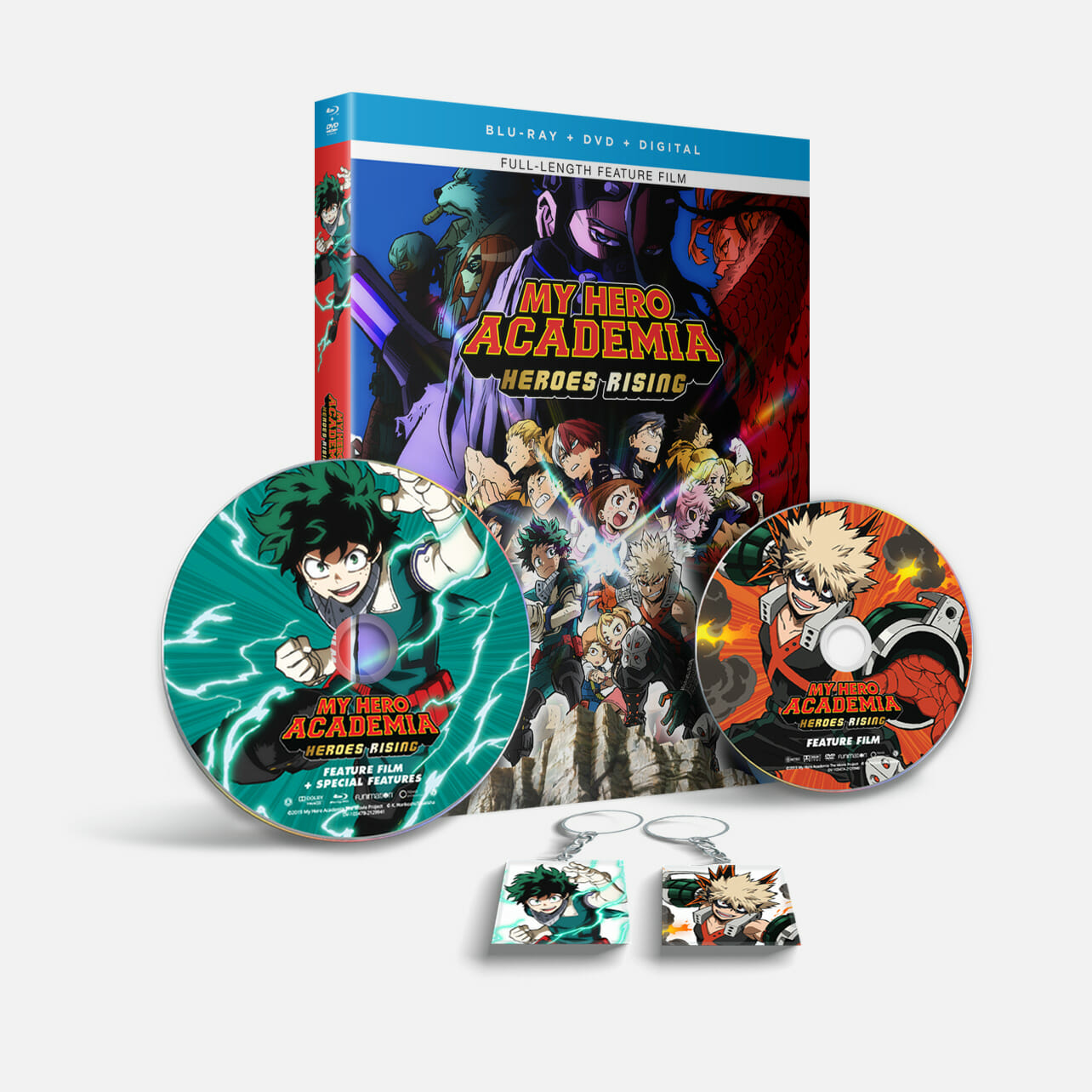 My Hero Academia Heroes Rising Movie Bundle Out October 27 Bagogames