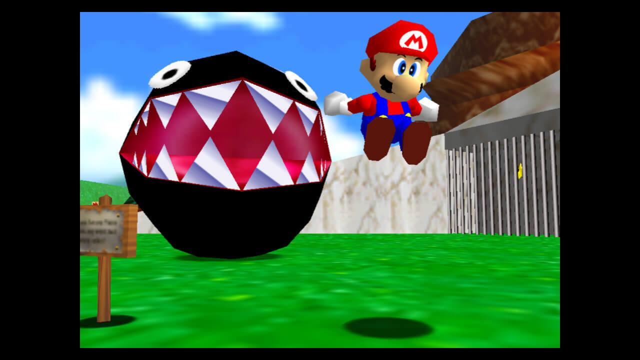 Super Mario 3D All-Stars - Mario 64